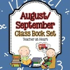 August/September Class Book Set