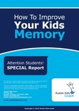 Aussie Kids Coach - Memory Report