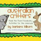 Australian Critters {Vocabulary/Read the Room Activity}
