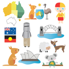 Australian Digital Clip Art Set - Commercial and Personal Use