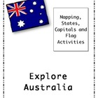 Australian States, Territories and Capital Cities puzzles