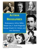 Author Biographies