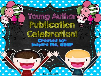 Author Publication Celebration!