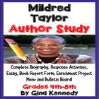 Author Study #1: Mildred Taylor w/ Reading/Writing Activit