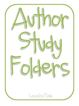 Author Study Folders: Mega Pack!