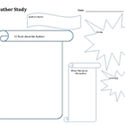Author Study Graphic Organizer