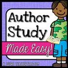 Author Study Made Easy