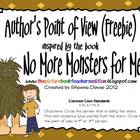 Author's Point of View Freebie inspired by No More Monster