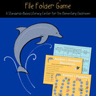 Author&#039;s &quot;Porpoise&quot; File Folder Game (author&#039;s purpose center)
