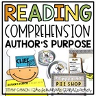 Author&#039;s Purpose Activity Packet