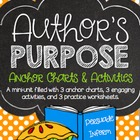 Author's Purpose Anchor Charts & Activities