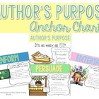 Author&#039;s Purpose Anchor Charts