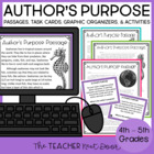 Author's Purpose: Common Core for 4th and 5th Grade