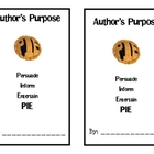 Author&#039;s Purpose PIE Book