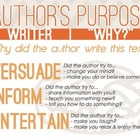 Author's Purpose PIE Poster {Free Download}