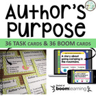 Author&#039;s Purpose Task Cards