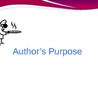 Author&#039;s Purpose for CPS Clickers or Powerpoint