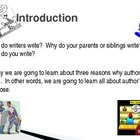 Author's Purpose's Webquest