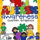 Autism Awareness Clip Art/Graphics: Set 2