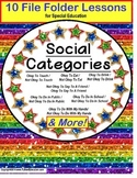 Autism CATEGORIES of Social Behavior – Okay/Not Okay SET O