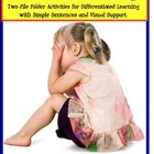 Autism File Folder Activities for Emotions & Feelings {Soc