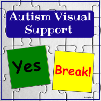 Autism & Special Needs Communication Cards