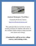 Autism Strategies Toolbox: A Handout for Training and Quic