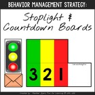 Autism: Transition Strategy - Printable countdown boards/s