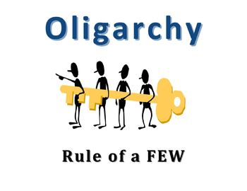 Oligarchy Clipart AUTOCRACY OLIGARCHY DE...