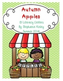 Autumn Apples - Literacy Centers