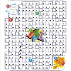 Autumn Codebreaker Word Puzzle, Illustrated, Commercial Us