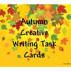 Autumn Creative Writing Task Cards