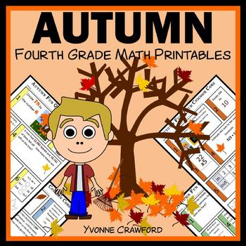Autumn Fun Quick Common Core (4th grade)