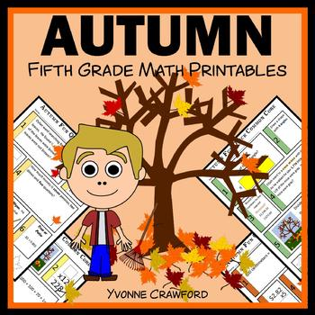 Autumn Fun Quick Common Core (5th grade)