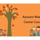 Autumn Math Center Cards