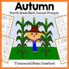 Autumn Mathbooking - Math Journal Prompts (3rd and 4th grade)