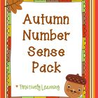 Autumn Number Sense Pack