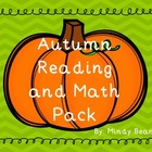 Fall Into Learning - Reading and Math Activity Pack