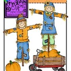 Autumn Scarecrow Friends {Creative Clips Digital Clipart}
