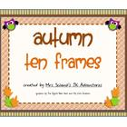 Autumn Ten Frames
