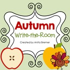 Autumn Write-the-Room Pack