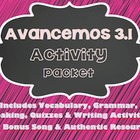 Avancemos 1 - 3.1 - 34 Page Activity Packet!!!