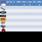 Avoir and objects in French powerpoint Connect 4 game