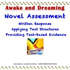 Awake and Dreaming Novel Test: Written Response &amp; Text Structures