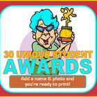 Awards! 30 Unique Student Awards for Busy Teachers!