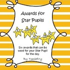 Awards for Star Pupil
