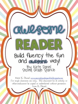Awesome Reader - Build Fluency {Get Started Kit}