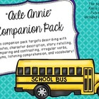 Axle Annie Companion Pack