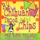 Ay Chihuahua, Tacos, &amp; Chips: Clip Art Set