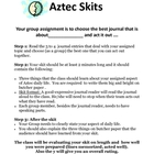 Aztec Journal Skit Project Activity